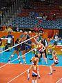 Rio 2016 - Women's volleyball NED-USA (29303106686).jpg