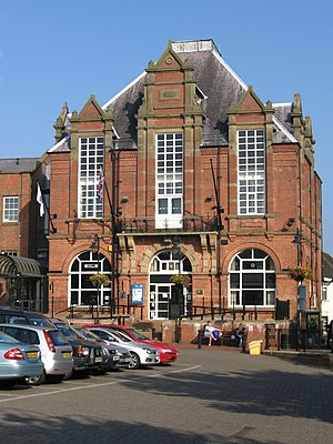 Amber Valley - Town Hall and council headquarters in Ripley