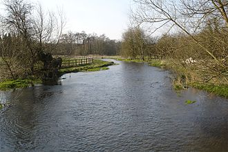 River Chess - Looking upstream, at Chenies