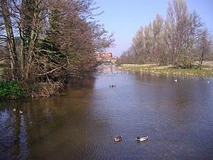 River Glaven - River Glaven at Glandford