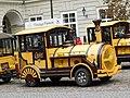 Road train steam engine parked in Lviv, Ukraine; 09.10.19 (1).jpg
