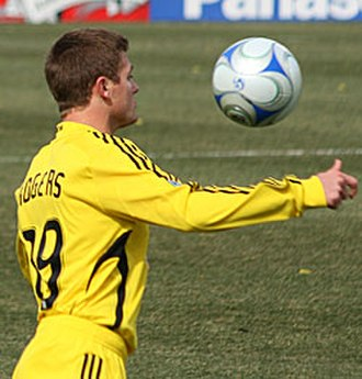 Robbie Rogers - Robbie Rogers on March 29, 2008 at Columbus Crew Stadium, in a match against Toronto FC