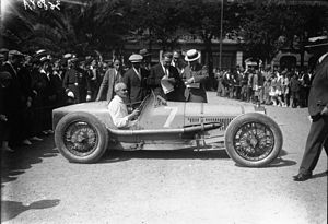 Robert Benoist - Benoist at the 1926 San Sebastián Grand Prix