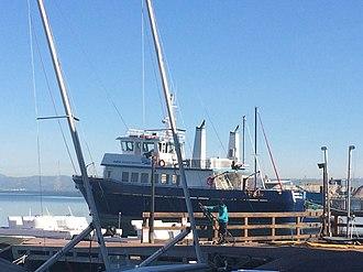 Marine Science Institute (San Francisco Bay) - Image: Robert G. Brownlee docked