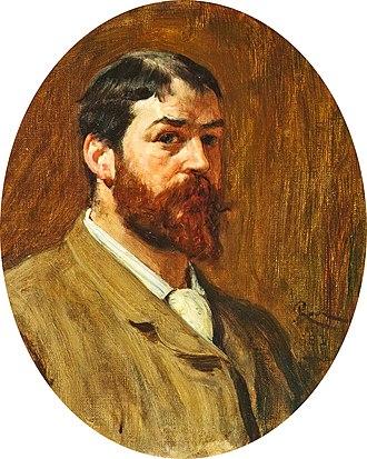 Robert Walker Macbeth - Self-portrait (1883; Aberdeen Art Gallery)