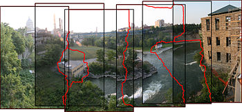 Image stitching - Wikipedia