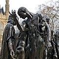 Rodin, Burghers of Calais (London) detail.jpg