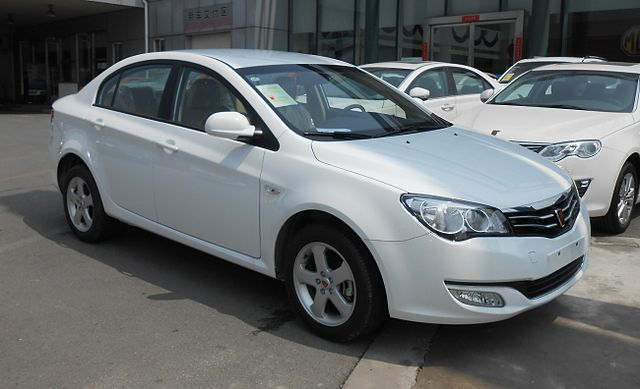 Image of Roewe 350 facelift 01 China 2014-04-14