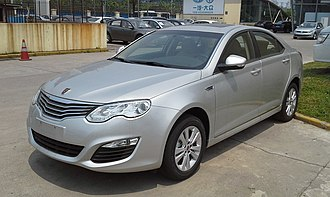 Roewe 550 - Image: Roewe 550 facelift 01 China 2014 05 01