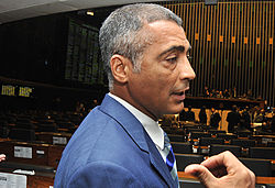 Romário at the Brazilian Chamber of Deputies 2010-05-04 1.jpg