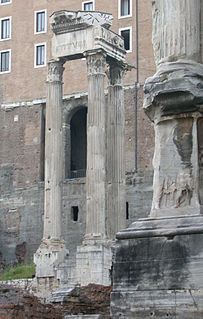 Temple of Vespasian and Titus temple