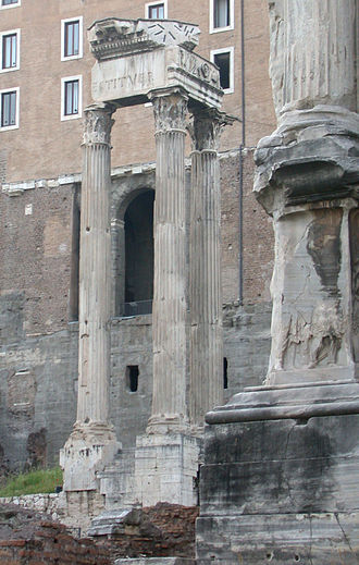 Temple of Vespasian and Titus - Temple of Vespasian and Titus