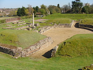 English drama - Roman theatre at Verulamium (St Albans)