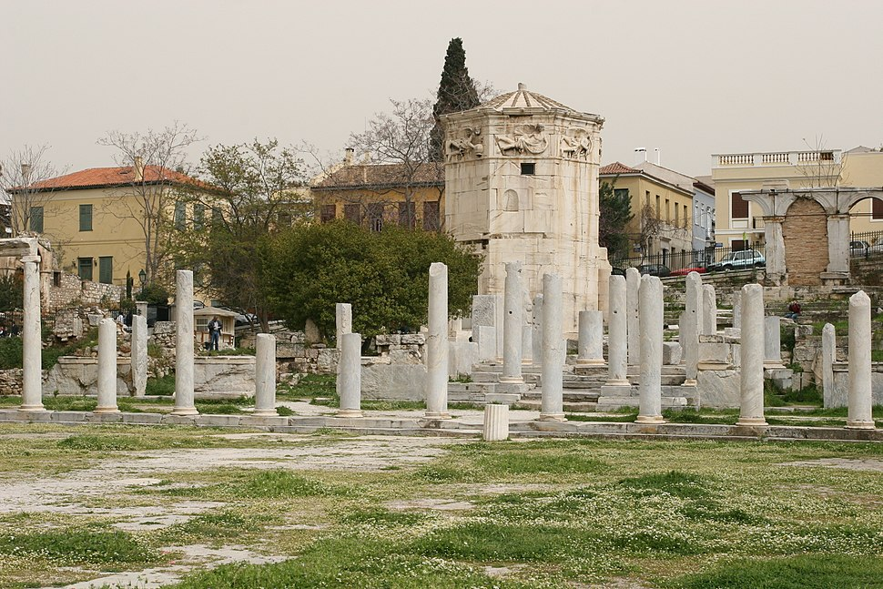 Roman Agora %26 Tower of the Winds