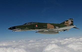 82d Aerial Targets Squadron - Image: Ronald E. Keys in F 4 Phantom 28 Sept 2007