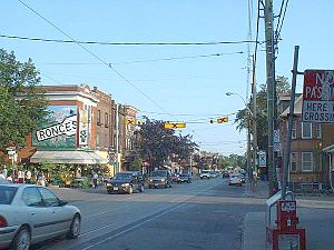 Roncesvalles, Toronto - Roncesvalles Avenue, looking south from Marmaduke Street