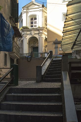 Santa Maria del Rosario a Portamedina - Facade