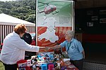 Rosemary Butler on the Wales Air Ambulance stall at the Monmouth Show.jpg