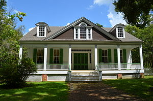 National Register of Historic Places listings in Wilkinson County, Mississippi - Image: Rosemont Plantation, home of Jefferson Davis