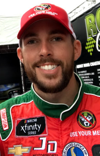 Ross Chastain - Chastain at Dover International Speedway in 2018