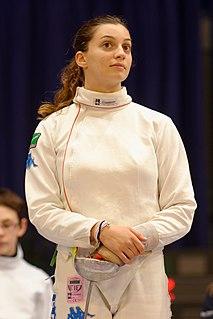 Rossella Fiamingo Italian fencer