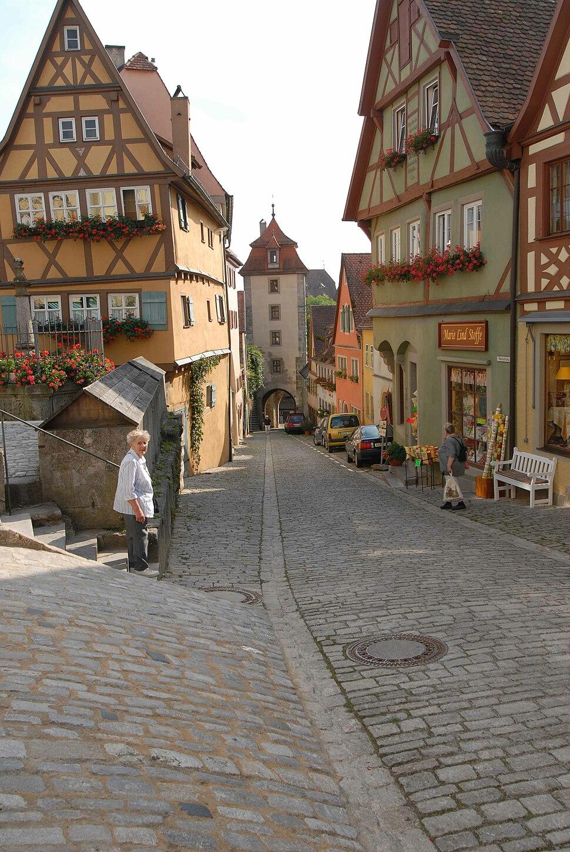 Rothenburg Kobolzeller Steige