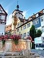 Rothenburg ob der Tauber-(Kapellenplatz-Brunnen)-damir-zg.jpg