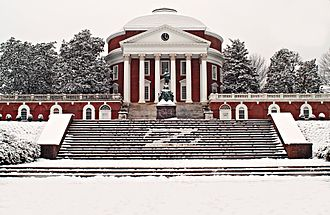 Frank Batten School of Leadership and Public Policy - The Rotunda at the University of Virginia