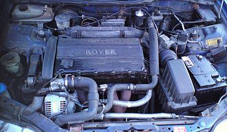 Rover T-series engine - Image: Rover T series insitu