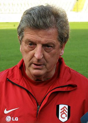 English: Roy Hodgson as a head coach of Fulham...