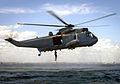 Royal Australian Navy Sea King exercising with Royal Navy divers in 2007.jpg