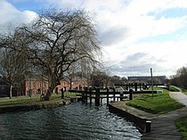 Royal Canal 4th Lock - geograph.org.uk - 347944.jpg