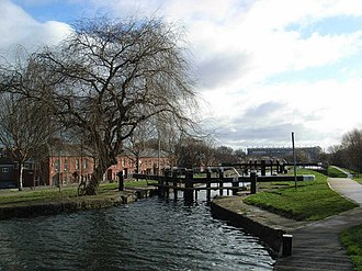 Drumcondra, Dublin - The Royal Canal passing through Drumcondra