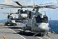 Royal Navy Melin Mk 2 Helicopters on HMS Illustrious MOD 45157435.jpg