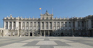 Spanish Baroque architecture - Royal Palace of Madrid (1738-1892).
