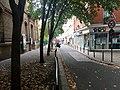 Rue Sadi-Lecointe, Paris 17 août 2015.jpg