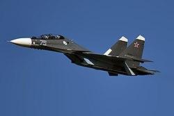 Sujoi Su-30 MK2 - Página 37 250px-Russian_Navy%2C_RF-34013%2C_Sukhoi_Su-30SM_%2849581740397%29
