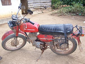 DKW RT 125 - Image: Russian motor bike