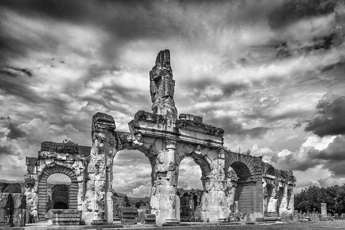 S.M. Capua Vetere - Anfiteatro Romano - Particolare 3.jpg