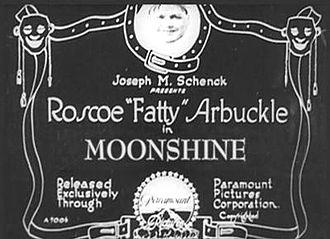 Moonshine (1918 film) - Title card