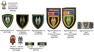 Regiment Northern Transvaal - SADF era Regiment Northern Transvaal insignia