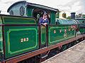 "SECR ""H"" Class no. 263 at Horstead Keynes (double heading with SECR ""P"" Class) (9129291655).jpg"