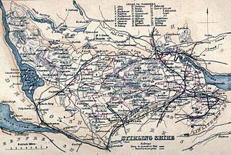 Stirlingshire - Image: STIRLINGSHIRE Civil Parish map