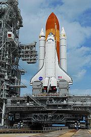 STS120 at Pad