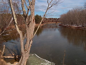 Saco River - The Saco River in Conway, New Hampshire