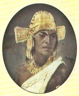 Sutagao people - Saguamanchica, zipa of the Muisca, conquered the Sutagao around 1470 in the Battle of Pasca