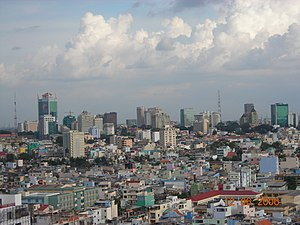 Skyline of Saigon