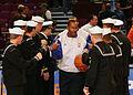 Sailors at a Knicks game DVIDS128352.jpg