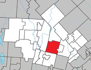 Saint-Faustin–Lac-Carré, Quebec - Image: Saint Faustin–Lac Carré Quebec location diagram