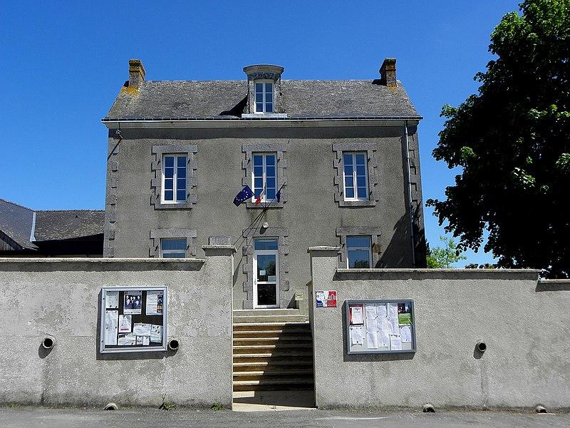 Saint-Germain-d'Anxure (53). La Mairie.
